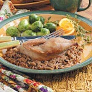 Partridge with Wild Rice