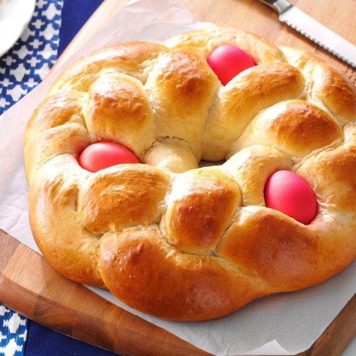 How to make yeast dough easter basket
