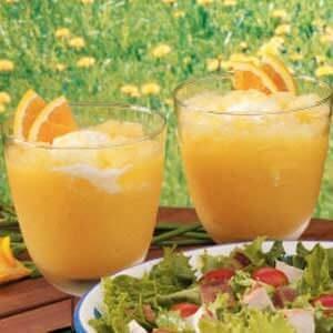 Orange Cream Slush