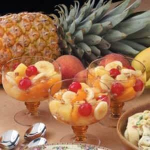 Peachy Fruit Medley