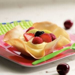 Sugary Dessert Shells