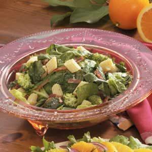 Baby Corn Romaine Salad