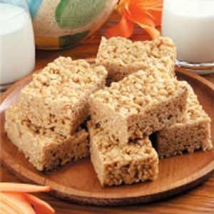 Quick Crisp Snack Bars