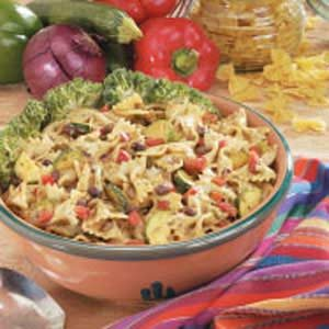 Black Bean Bow Tie Salad