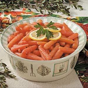Glazed Cranberry Carrots