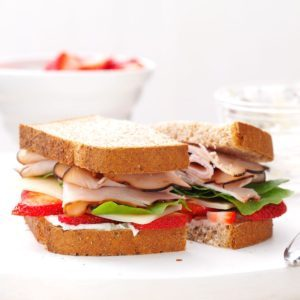 Berry Turkey Sandwich