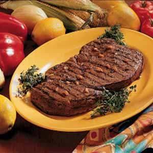Marinated Sirloin Steak
