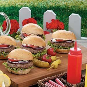 Herb Burgers