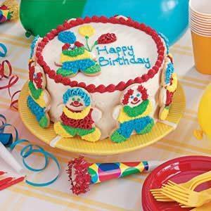 Clown Cake