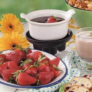 Chocolate Dessert Fondue