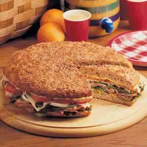 Sandwich for 12
