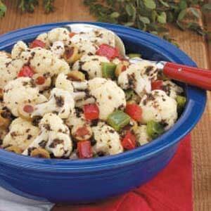 Cauliflower Olive Salad