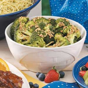 Easy Sesame Broccoli