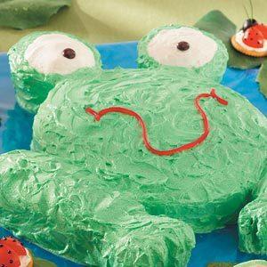 Hoppy Frog Cake