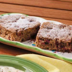 Cran-Apple Walnut Cake
