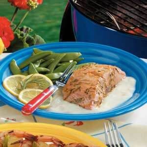 Grilled Citrus Salmon Fillet
