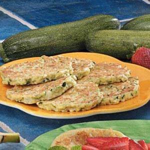Oregano Zucchini Pancakes