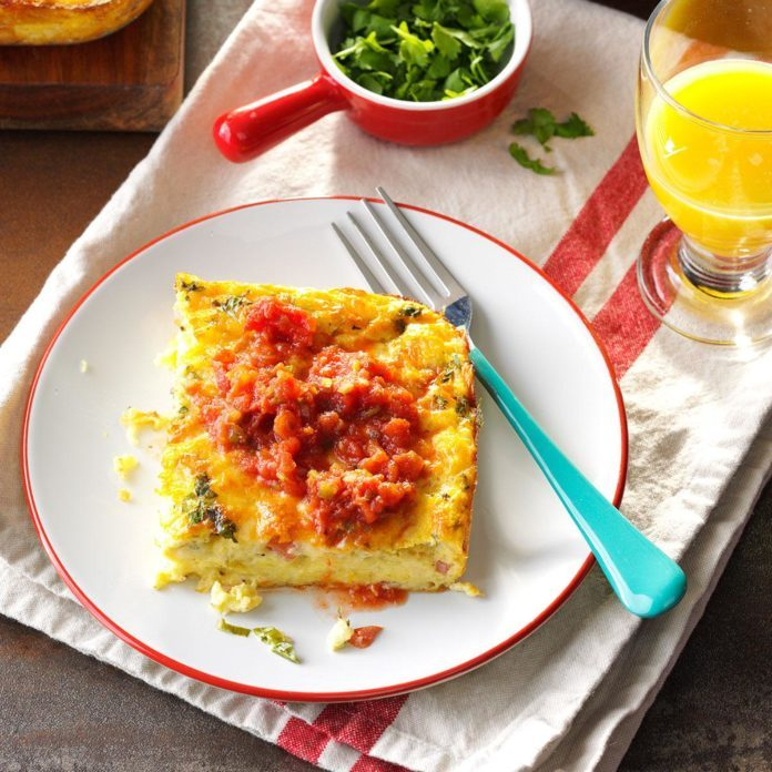 New Mexico: Mexican Egg Casserole