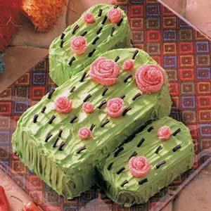 Flowering Cactus Cake