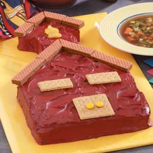 Schoolhouse Cake