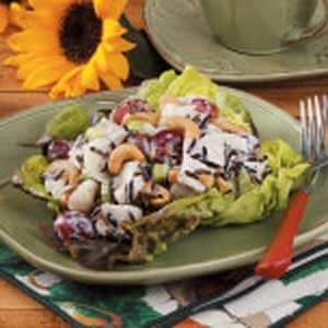 Wild Rice Turkey Salad