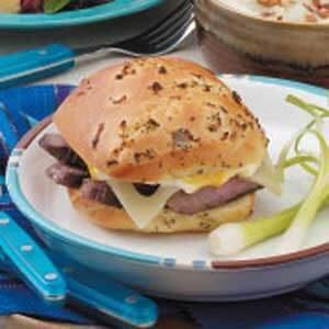 Sirloin Steak Sandwiches