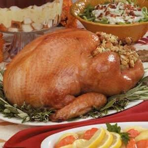 Turkey with Herb Stuffing