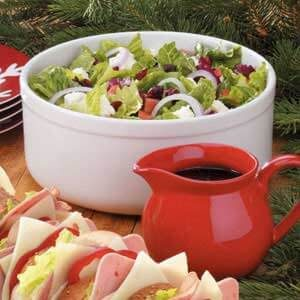 Festive Tossed Salad with Feta