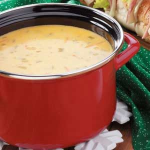 Chili Cheese Soup