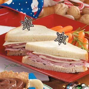 Ho-Ho-Ho Sandwiches