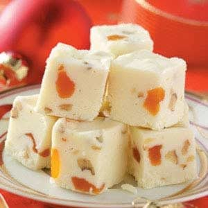 Apricot White Fudge