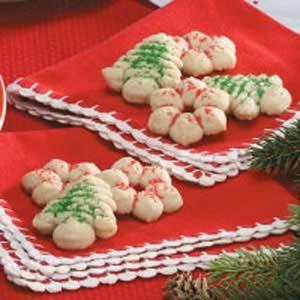 Spice Spritz Cookies