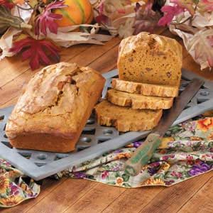 Makeover Holiday Pumpkin Bread