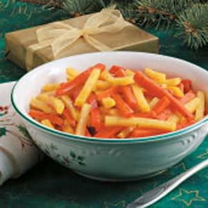 Lemon-Glazed Carrots and Rutabaga