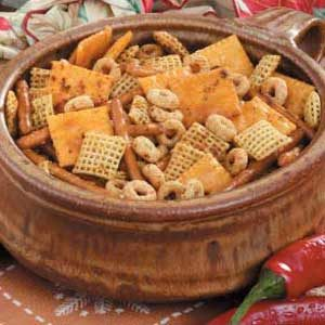 Zesty Party Snack Mix
