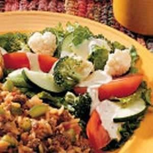 Crispy Ranch Salad
