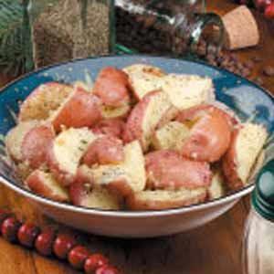 Herbed Parmesan Potato Wedges