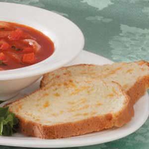 Garlic Cheese Quick Bread