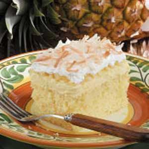 Amazing Hawaiian Wedding Cake