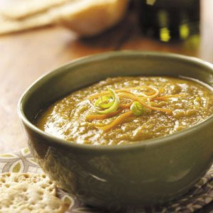 Vegetarian Split Pea Soup Recipe Taste Of Home