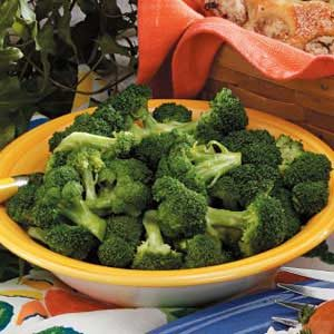 Steamed Broccoli Florets