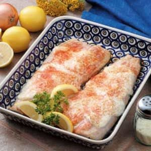 Baked Trout Fillets