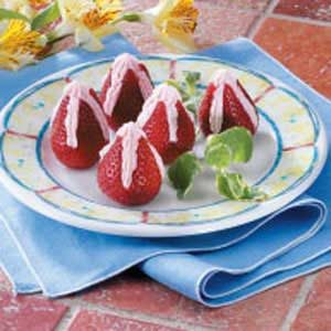 Special Stuffed Strawberries