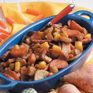 Glazed Winter Vegetables