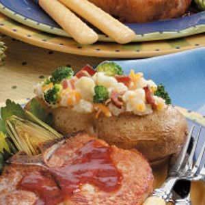 Veggie-Stuffed Potatoes