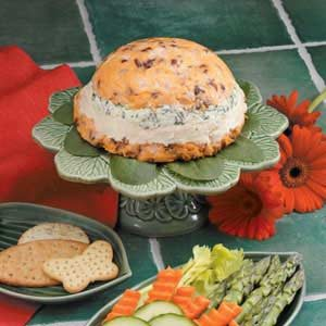 Four-Layer Cheese Spread