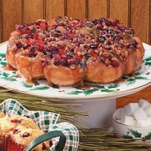 Christmas Cranberry Rolls