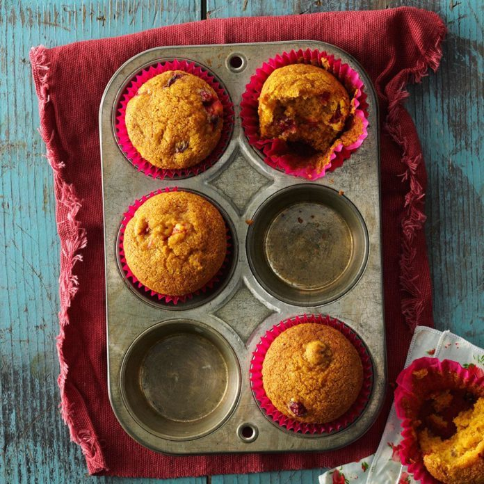 Arizona: Cranberry Pumpkin Muffins