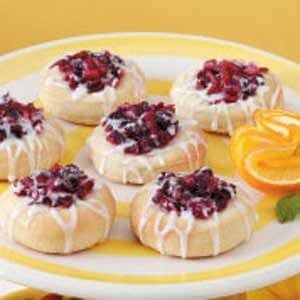 Cranberry Kolaches