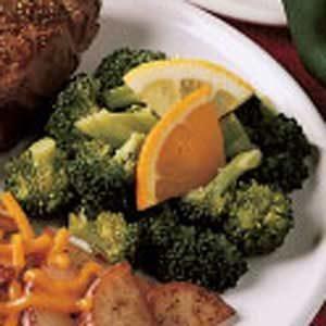 Citrus Broccoli Toss